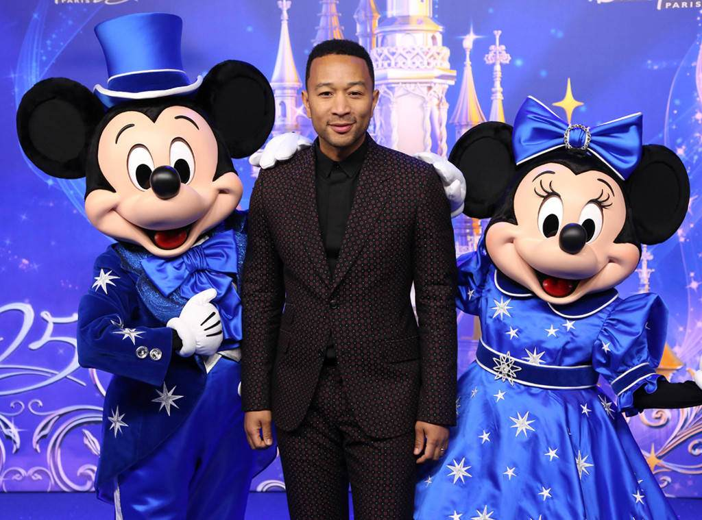 John Legend a Disneyland Paris